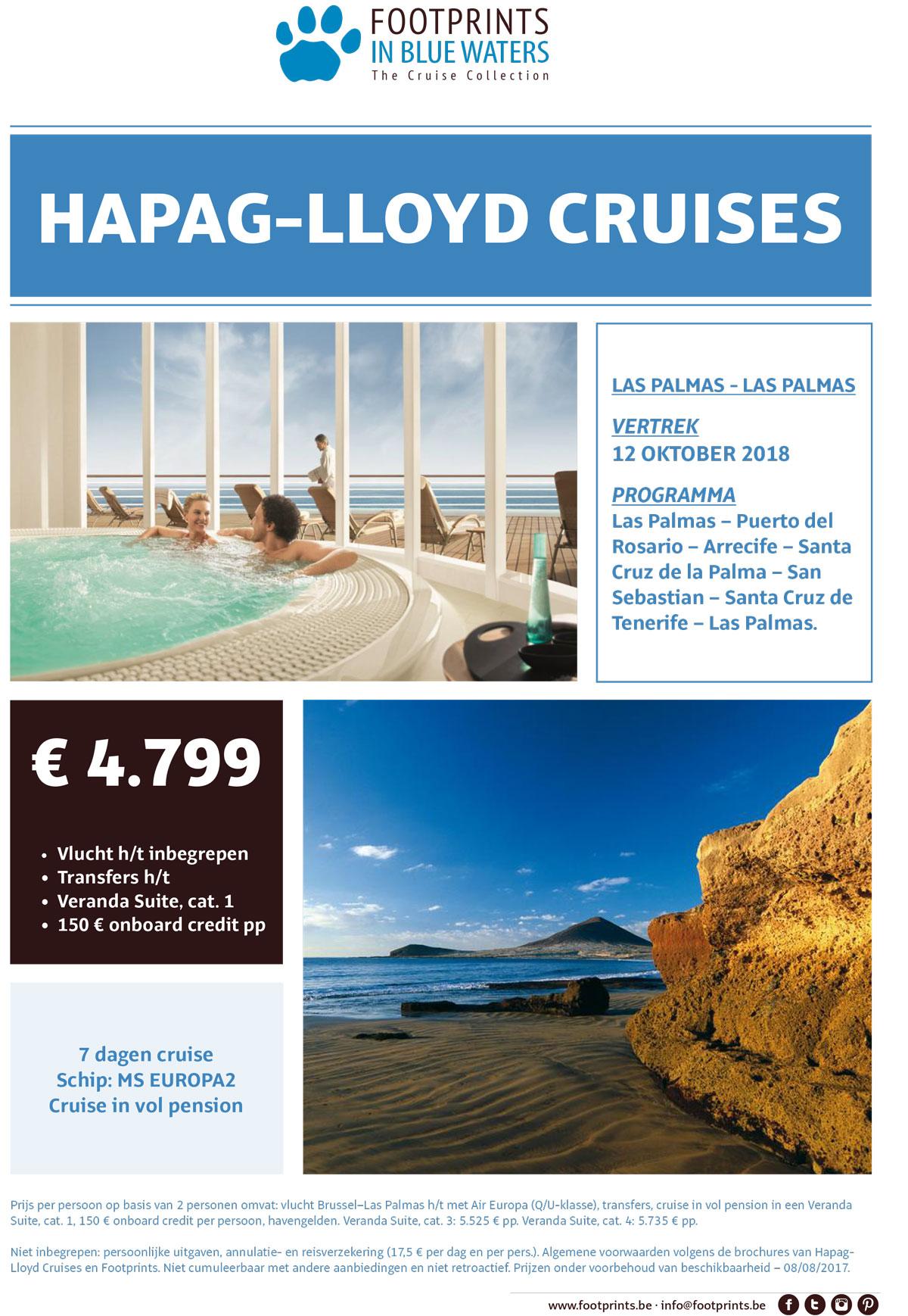 Cruise: Las Plamas - Las Palmas