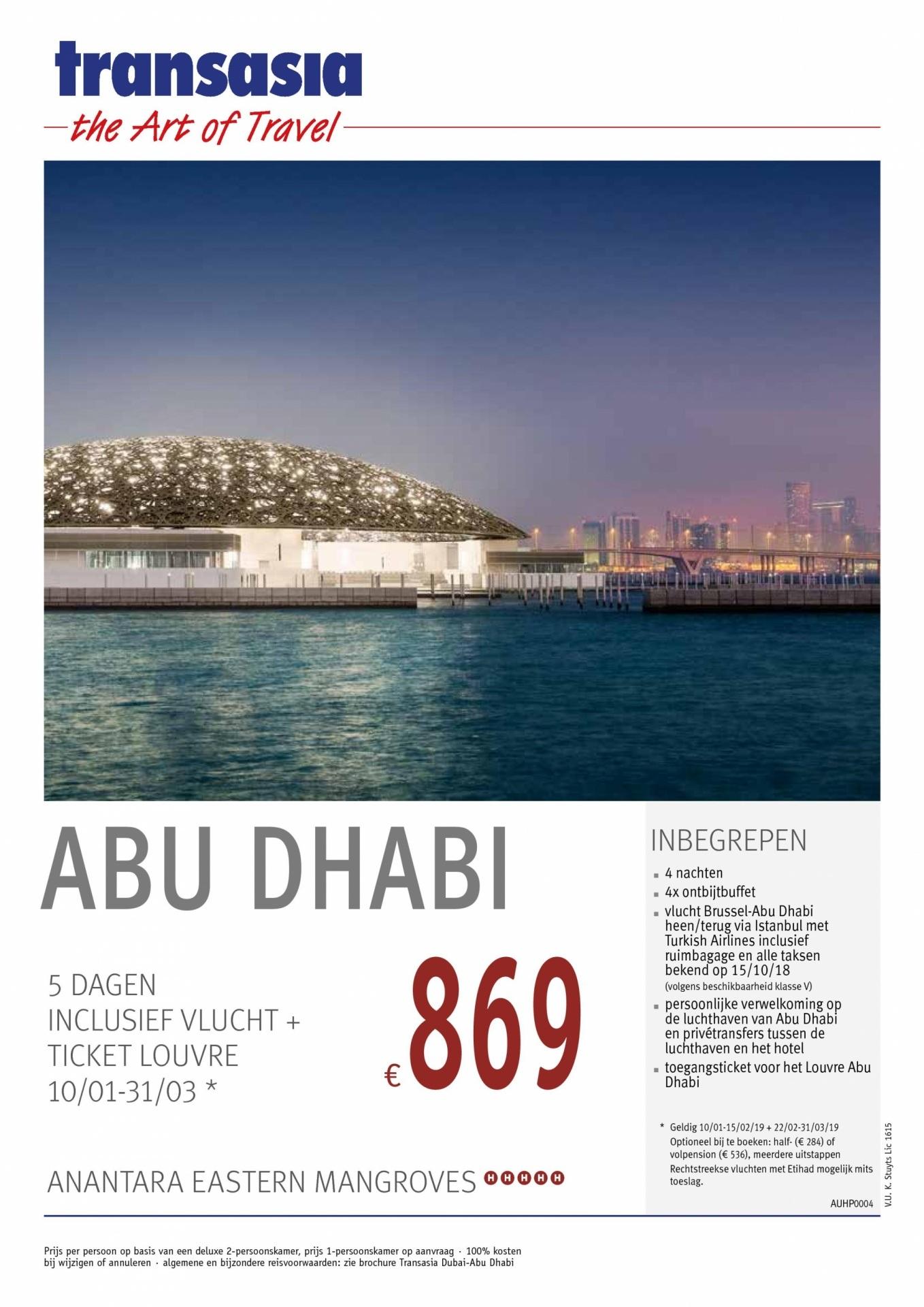 5 Dagen Abu Dhabi