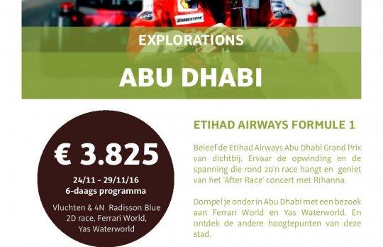 ETIHAD AIRWAYS FORMULE 1