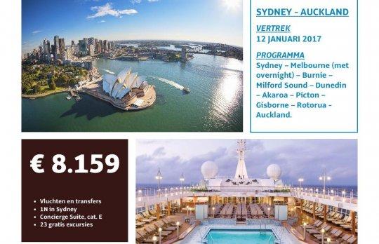 Cruise Sydney - Oakland