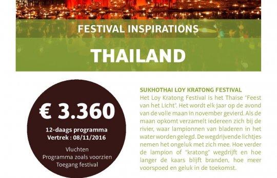 Thailand: Loy Kratong Festival