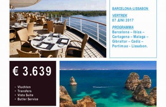 Cruise Barcelona - Lissabon