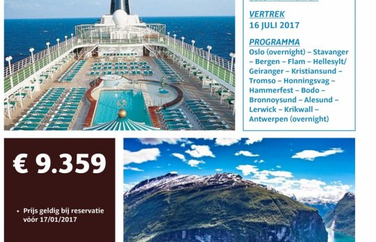 Cruise Oslo-Antwerpen