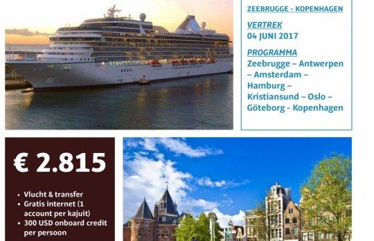 Cruise Zeebrugge-Kopenhagen