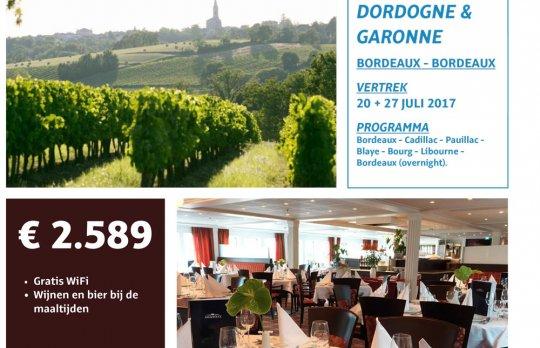 Cruise Dordogne & Garonne