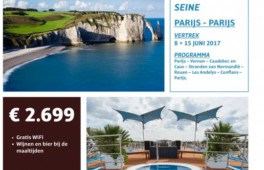 Cruise op de Seine