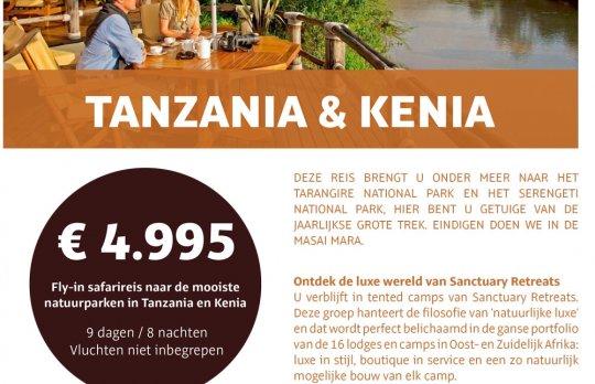 Safari Tanzania & Kenia