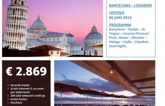 Cruise: Barcelona - Lissabon