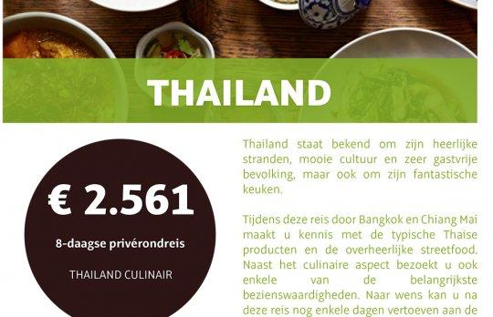 Thailand Culinair