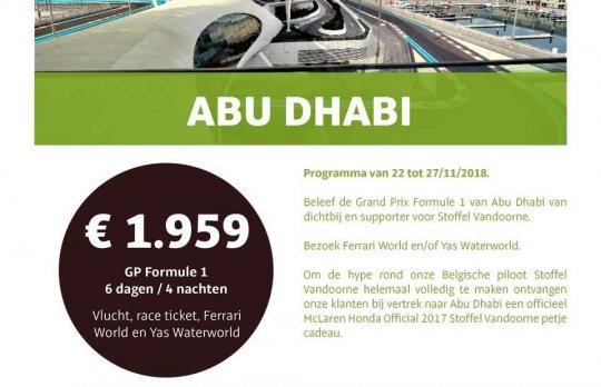 GP Formule 1 Abu Dhabi