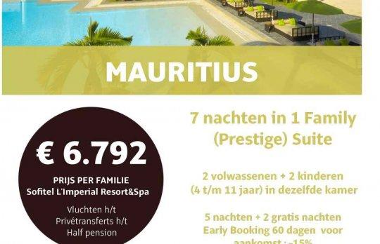 Mauritius Family Prestige Suite