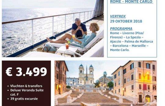 Cruise: Rome - Monte Carlo