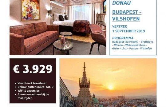 Cruise Budapest - Vilshofen